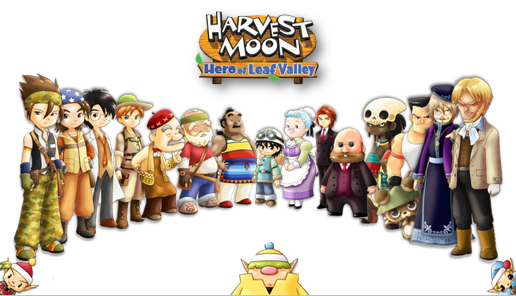 Harvest Moon Hero Of Leaf Valley