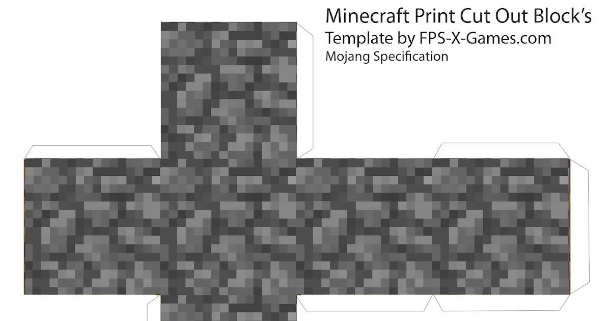 Minecraft Blog Minecraft Cube\u0027s - Printable Cut Out Block\u0027s