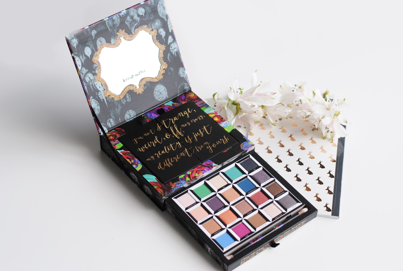 urban decay alice in wonderland palette 2016 review