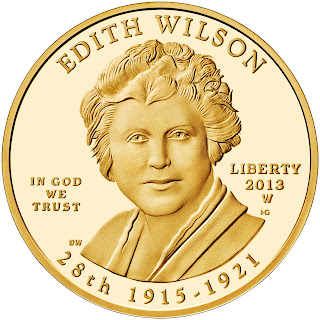 US Gold Coins Edith Wilson 10 Dollars First Spouse Gold Coins