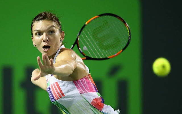 Halep Miami 2016 rezumat video Simona Halep vs Julia Goerges Youtube wta highlights video rezumatul meciului Simona Halep Julia Goerges 6-4 6-1 Miami Open 2016 wta tennis match Simona Halep Julia Goerges 6-4 6-1 Miami Open 2016 turul 3