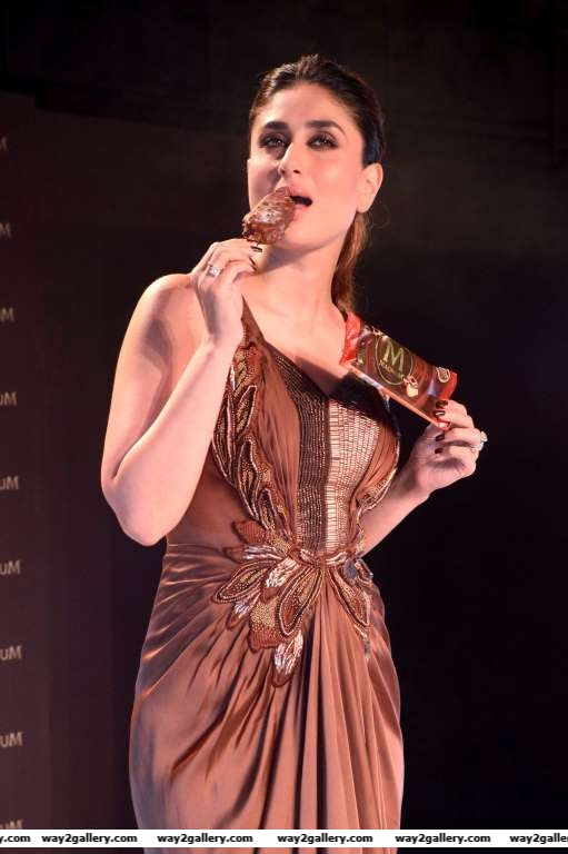Kareena Kapoor Khan launched the new Magnum Ice Cream