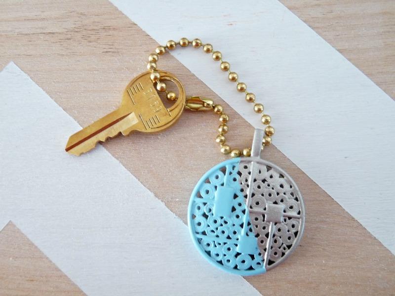 Easy Hand Made Key Chain