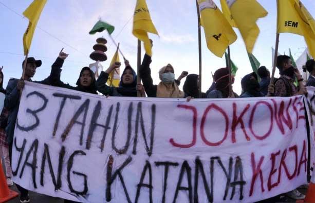 Duh, Dua Pejuang Mahasiswa BEM-SI Terancam Hukuman 5 Tahun Penjara