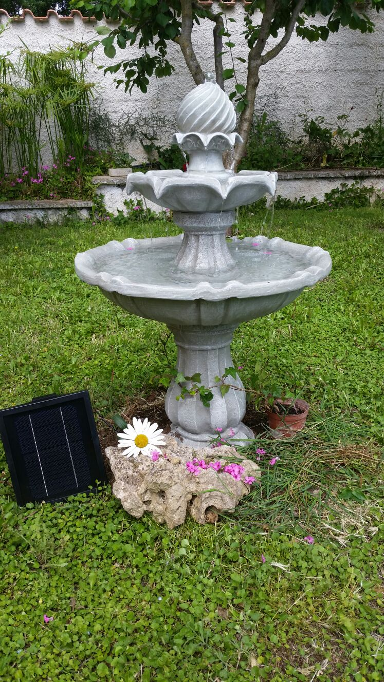 New fashion style electronic star fontana da giardino for Vasche in plastica da giardino