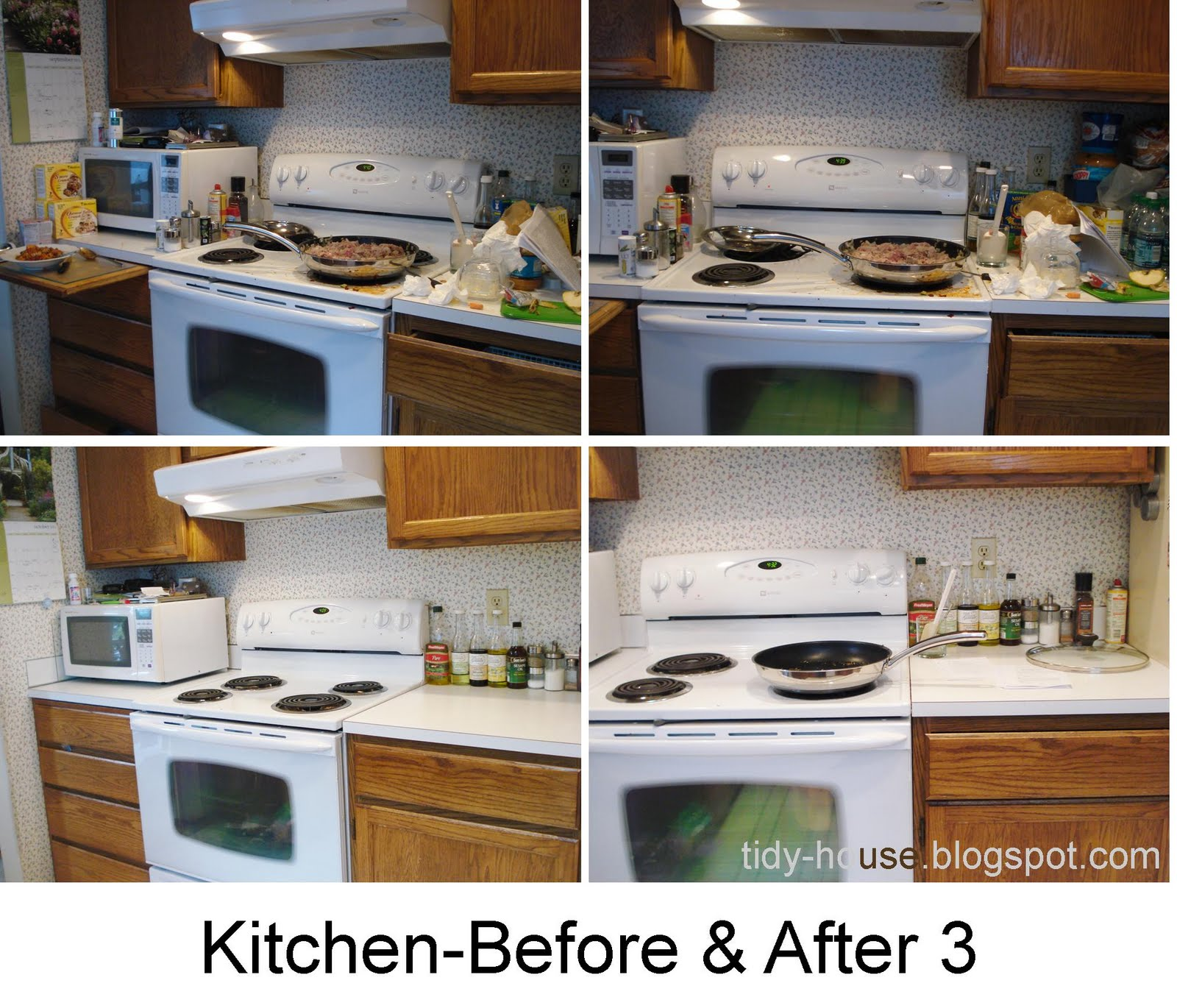 Messy Kitchen Before And After