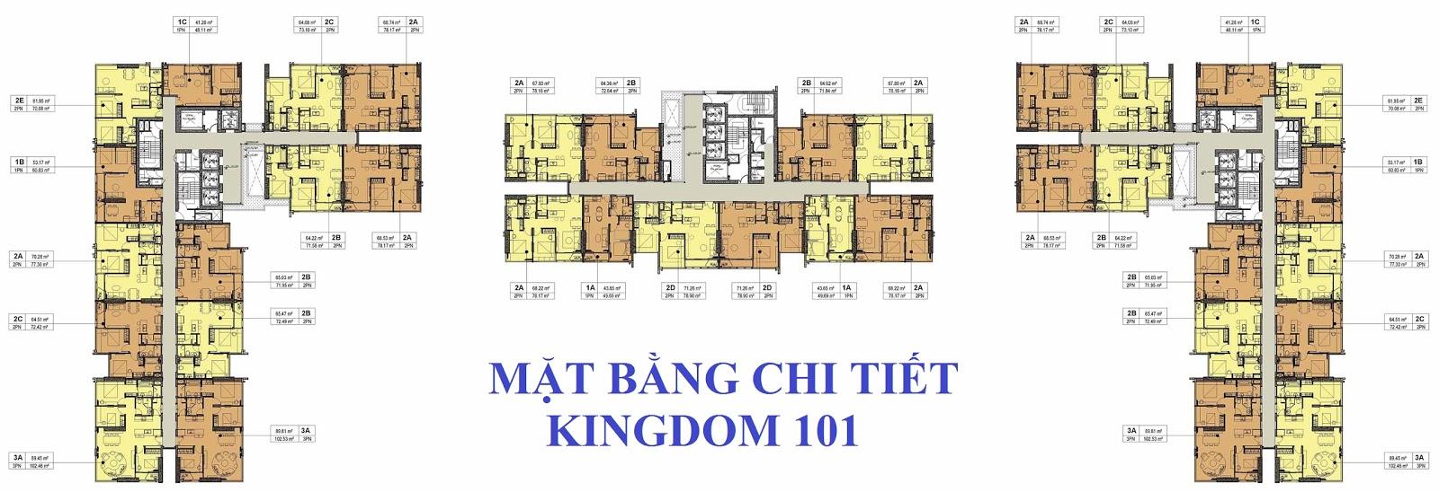can ho kingdom 101 - mat bang tang