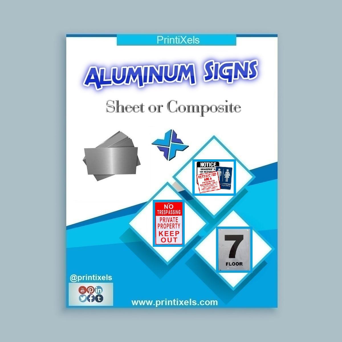 Custom Aluminum Signs: Sheet or Composite