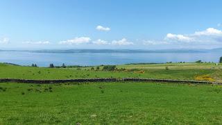Kis kerítés sziklákból: ilyet mindenfelé lehet látni Skóciában
