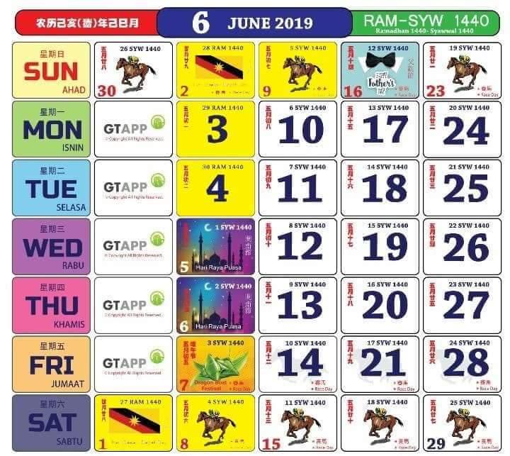 Kalendar 2019 Dan Cuti Sekolah 2019 Rancang Percutian Anda Layanlah Berita Terkini Tips Berguna Maklumat