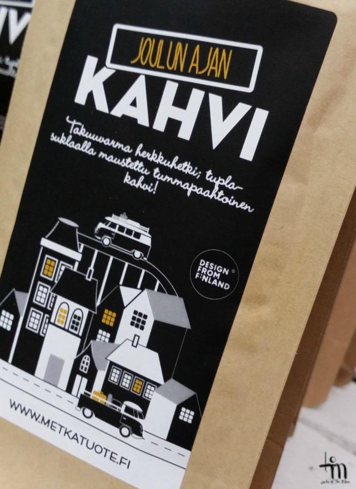 metkatuotteen joulunajan kahvi