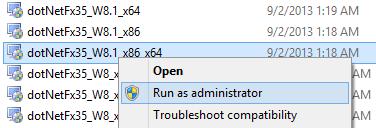 Hướng dẫn cài đặt NET Framework cho Windows 8.1