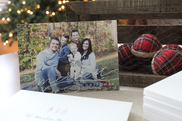 Minted Christmas Card | Stilettos and Diapers | Family Photo Idea