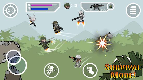 Doodle Army 2: Mini Militia Mod Apk Download