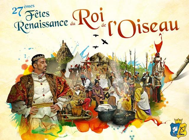 Fêtes Renaissance du Roi de l'Oiseau.