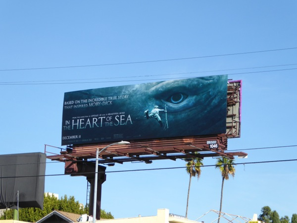 Heart of the Sea whale eye billboard