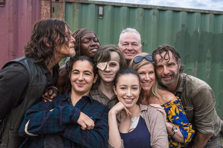 The Walking Dead - Season 8 - Official BTS Photos *Updated 19th March 2018*