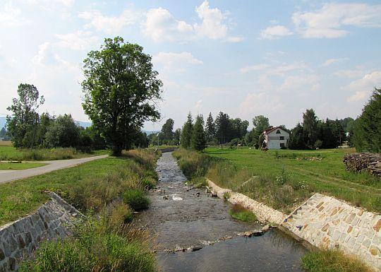 Wilkanów, rzeka Wilczka.