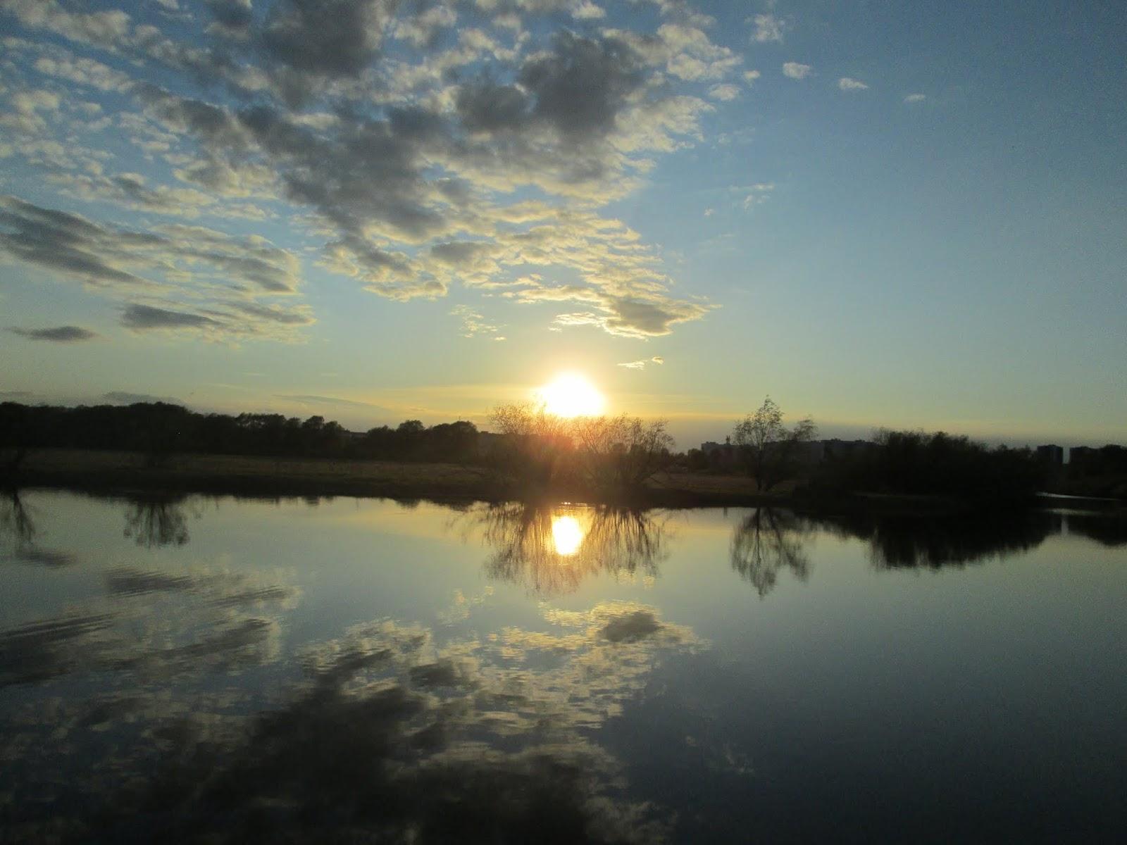 Река как зеркало