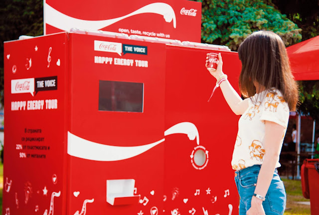 Coca-Cola And Publicis Gets to the Point with Recycling in Latest Billboard Campaign