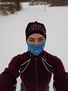 Coureuse hivernale, Bois-de-Liesse