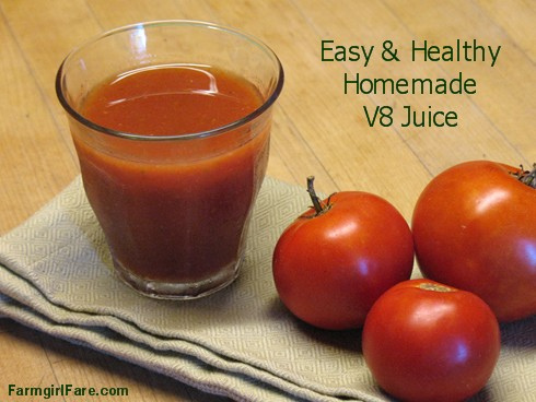 Recipe How To Make Your Own V8 Juice Easy Homemade Vegetable Tomato