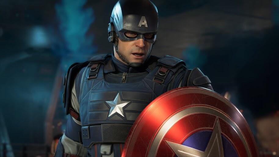 Marvel's Avengers Captain America 4K Wallpaper #3 304