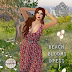 VINTAGE TOUCH - BEACH BLOOM DRESS