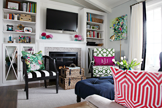 living room organization furniture for the iheart organizing one challenge week 6 reveal