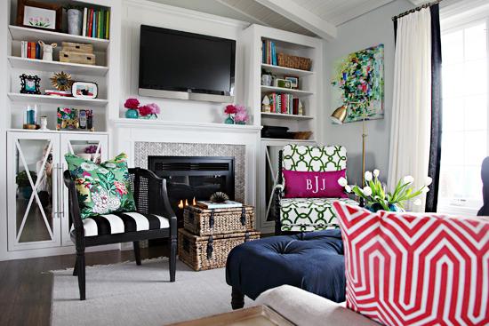 IHeart Organizing: One Room Challenge Week 6   IHeart Living Room Reveal!