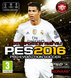 PES 2016 PSD Stats for PTE 5.1 by RMB (V3.1)