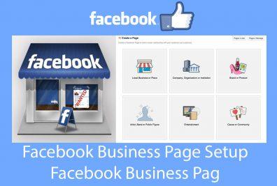 Facebook Business Page | Facebook Business Page Create - Facebook Business Page Setup