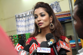 Miss Planet India Rashmi Thakur Inaugurates Pochampally IKAT Art mela 2016