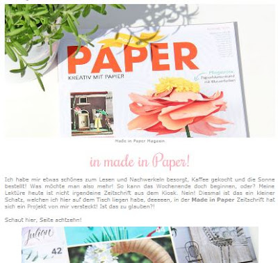 made in paper - kranz - by stempel-einfach.de