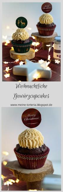 Weihnachtliche Gewürzcupcakes