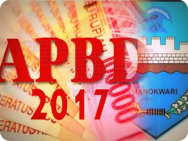 APBD Manokwari 2017 Sebesar Rp1,1 Triliun