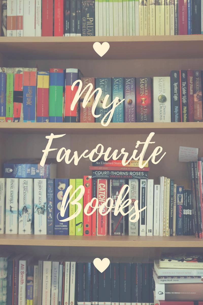 My Favourite Books | www.theblushfulhippocrene.blogspot.com