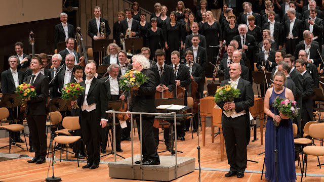 Berlin Philharmonic, Sir Simon Rattle, Elsa Dreisig, Mark Padmore, Florian Boesch (Photo Berlin Philharmonic)