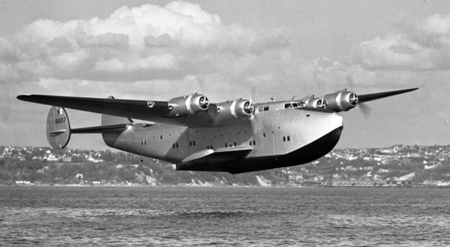 Boeing 314 Clipper flying boat operated by Pan American