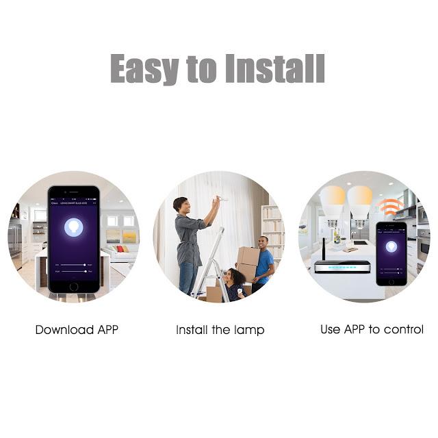 LOHAS Smart Bulb Easy To Install