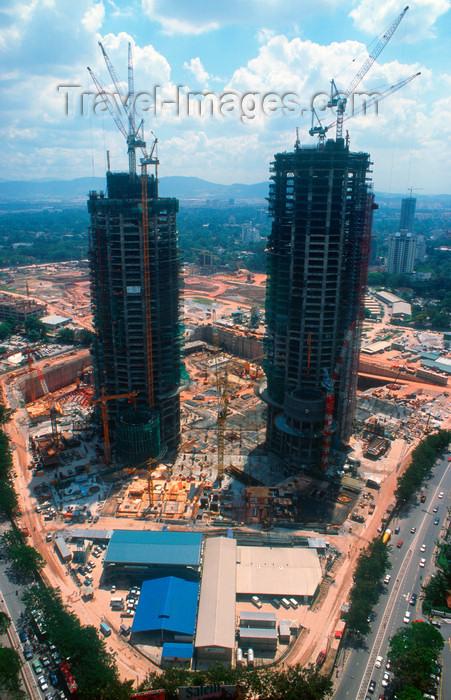 Encyclopedia: Petronas Towers Construction