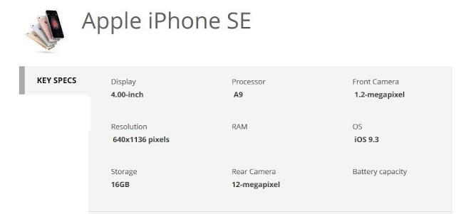 apple-iphone-se-specs-techfoogle.com