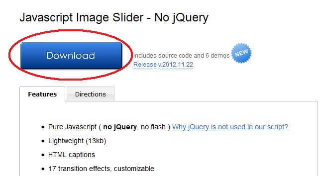Add a Slider to Blogger - Blogger Tips Pro
