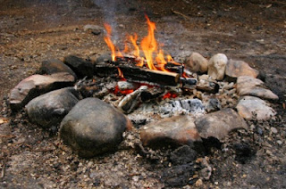 Madoodiswan sweat lodge stones