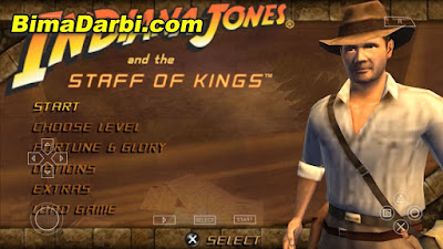 Indiana Jones And The Staff Of Kings PSP ISO for Android
