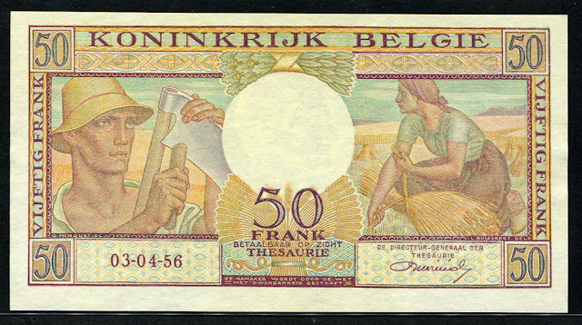 currency money Belgian francs banknotes notes