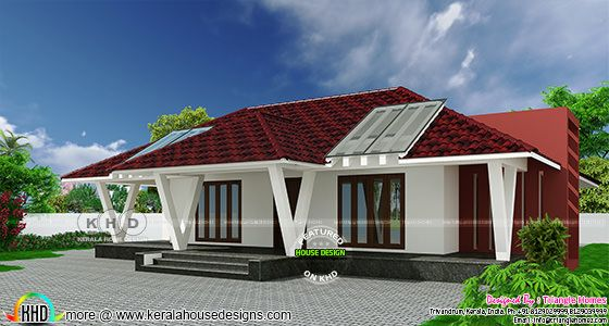 2002 sq-ft Individual villa project at Kilimanoor
