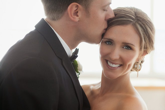 Cream And Blush Black Tie Wedding