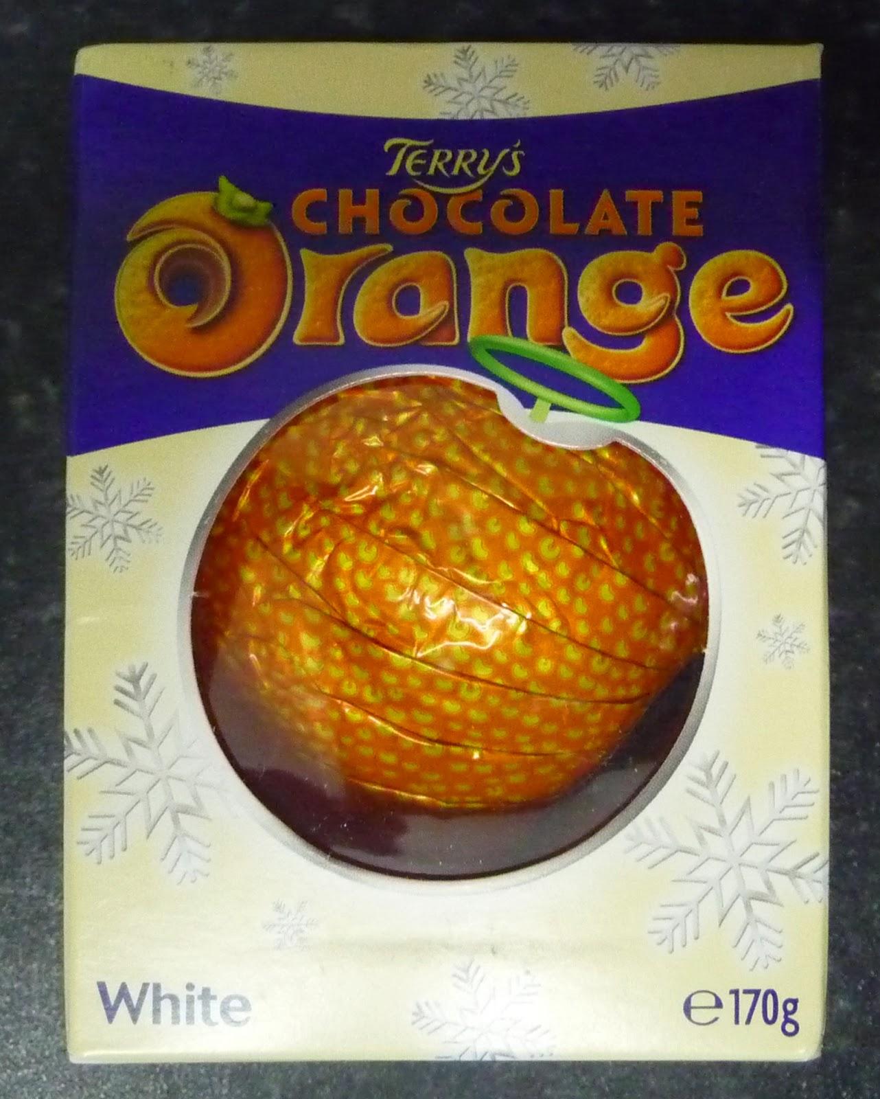 Something To Look Forward To Terrys Chocolate Orange White