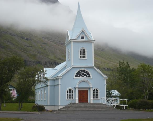 chiesa di Seyðisfjörður